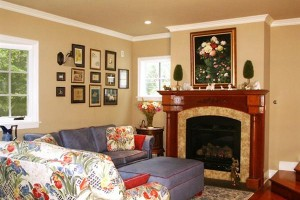 Fireplace Corner Designs