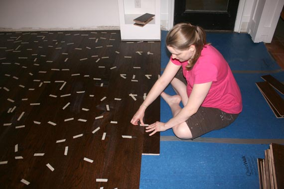 Floating Wood Floor Installation