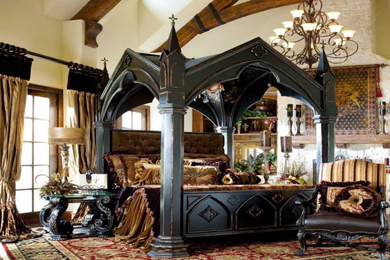 Marvelous Gothic Interior Design Style