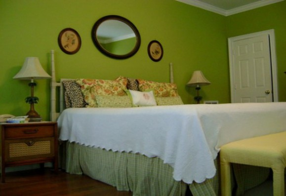 green bedroom color ideas - Green Color Bedroom