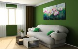 <b>9 Ideas To Create Green Colored Rooms</b>