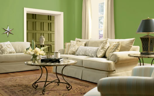 Green Colored Rooms