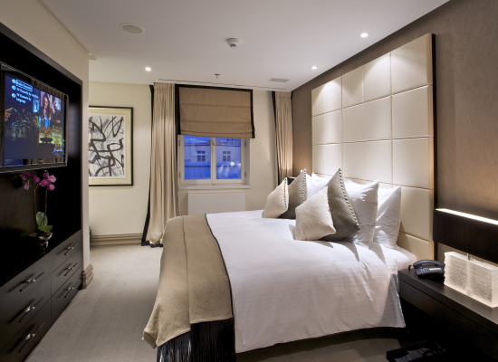 Hotel bedroom design for Modern hotel decor
