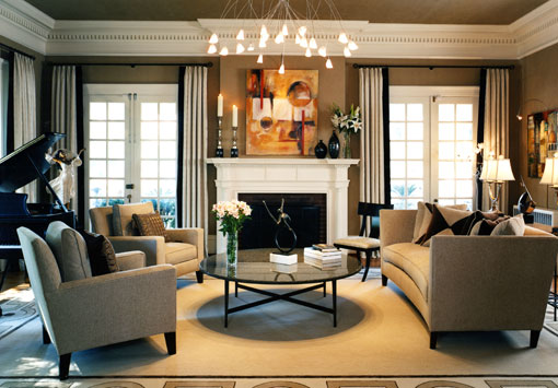 Interior Design Classic Living Room
