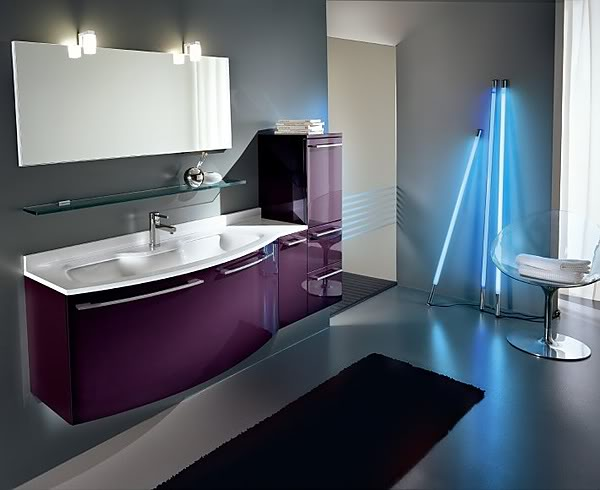 Modern Bathroom Flooring