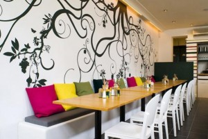 best restaurant wall design ideas contemporary - mericamedia