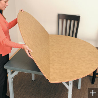 Round Card Table Extender