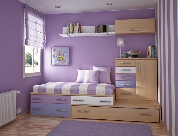 Simple bedroom ideas for small rooms for Simple small bedrooms