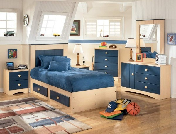 Single Box Bed Design Ideas