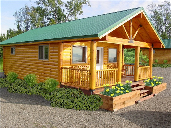 Tips to decorate small cabin with free cost for Small metal homes for sale