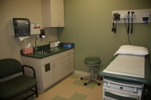 Medical Exam Room Cabinets
