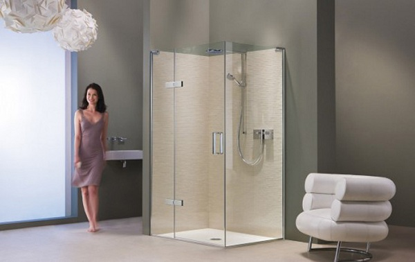 Minimalist Shower Enclosures