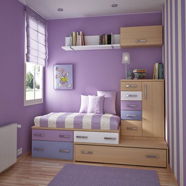 Purple Bedrooms For Teenagers
