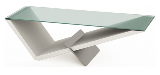 Wedge Shaped Coffee Tables