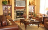 <b>Tips To Decorate Living Room With Corner Fireplace</b>