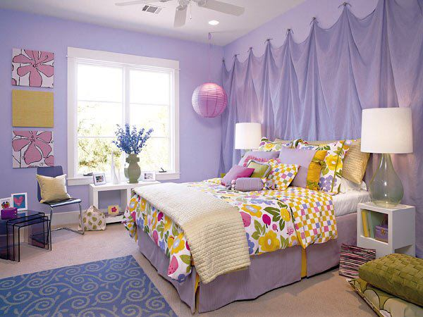 Bedroom Ideas In Purple