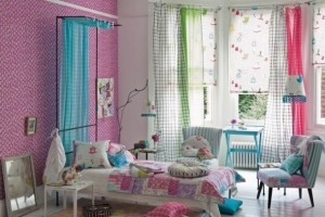 Blue Pink Interior Design Ideas