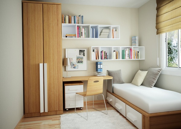 How to Make A Very Small Bedroom Look Bigger