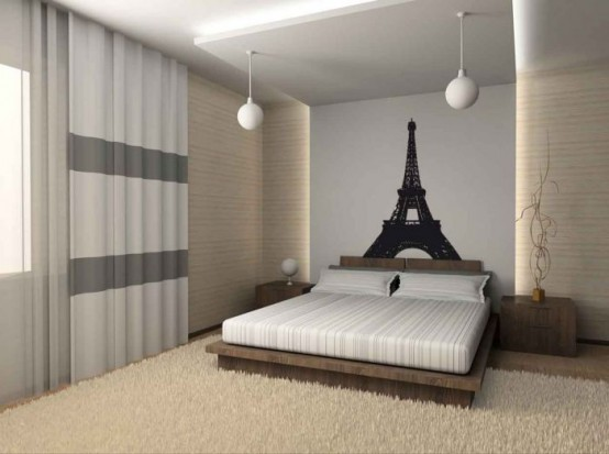 Tips To Decorate Bedroom With Paris Theme