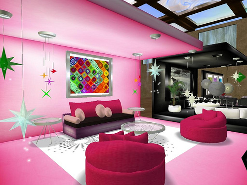 Pink Room Decor