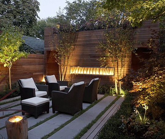 4 ideas to create private backyard for Creating a courtyard garden
