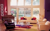 <b>Tips To Decorate Room Wall With Red And Purple Combination</b>