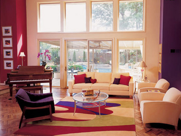 Tips To Decorate Room Wall With Red And Purple Combination Homedecomastery