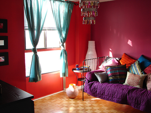 Red And Purple Room Ideas