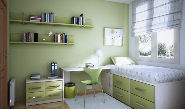 Sage Bedroom Design
