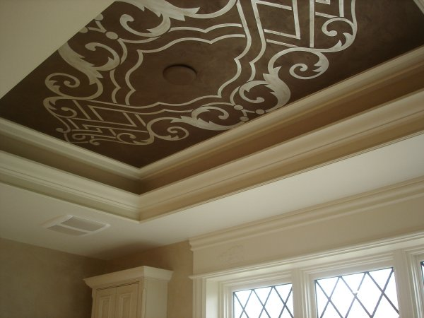 5 simple ideas to beautify ceiling on home for Home ceiling design images