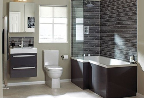 Small Contemporary Bathrooms