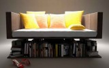 <b>Make a Comfortable Small Home Library</b>