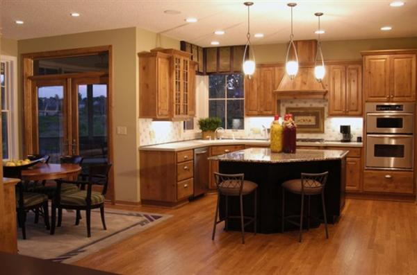 Wood Flooring Kitchen