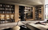 Wooden Showcase Designs For Living Room