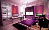 <b>Tips To Create Romantic Bedroom With Purple</b>