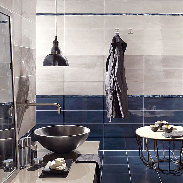 Blue and Grey Bathroom Ideas