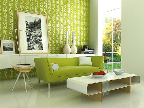 Choosing Wallpaper for Living Room