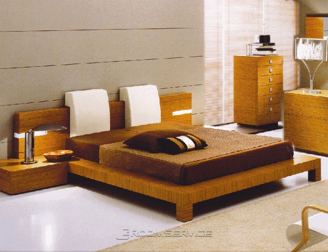 Contemporary Platform Bed Frame