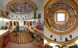 <b>Relaxing on Interesting Modern Library Home Design</b>