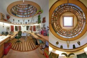 Create Home Library Design