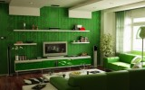 <b>Manage Each Room with Green Walls</b>