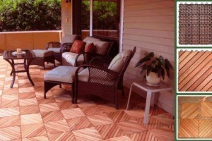 Eucalyptus Wood Flooring Tile