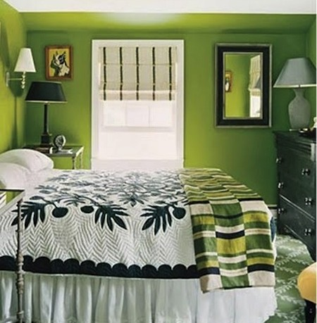 Green Master Bedroom Ideas
