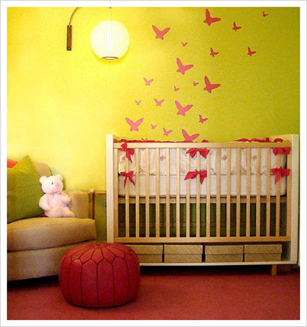 Light Green Baby Rooms