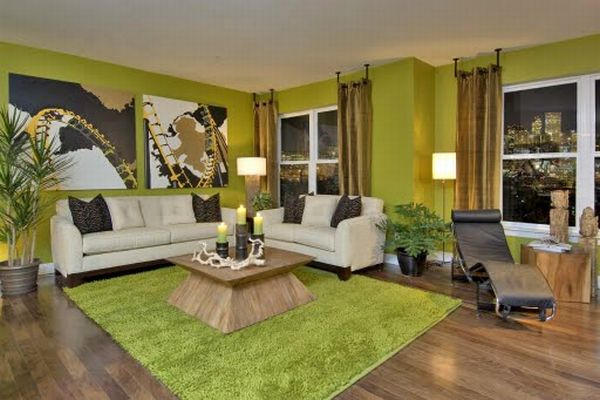 Light Green Rooms Decoration Ideas for Fresh Atmosphere