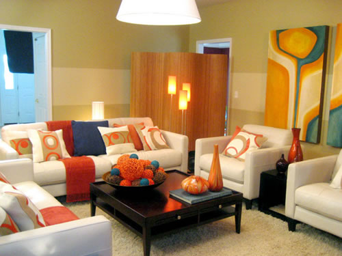 Living Room Colours Combination
