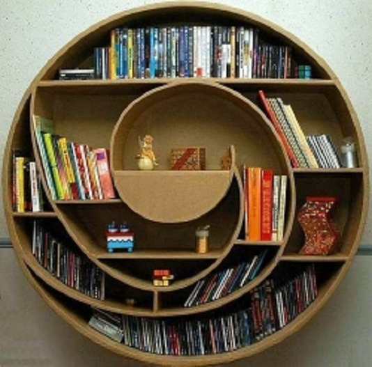 Modern Home Library Design Ideas Picture