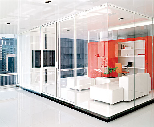 Modern minimalist office design for Beautiful modern office design