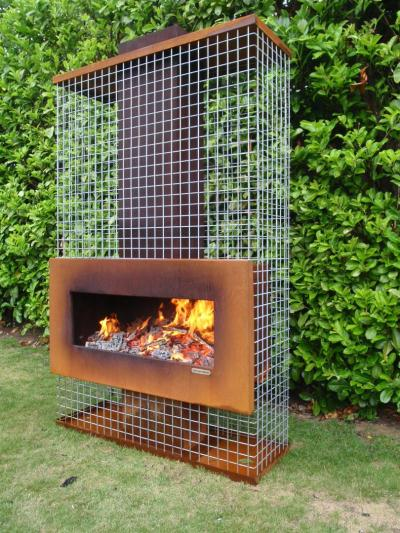 Available Outdoor Fireplace Pictures Collections