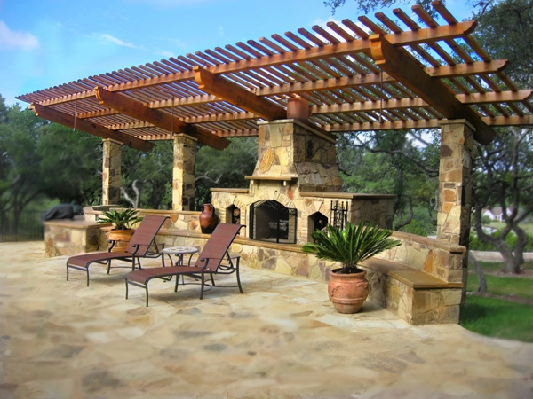 Outdoor Fireplace Pictures